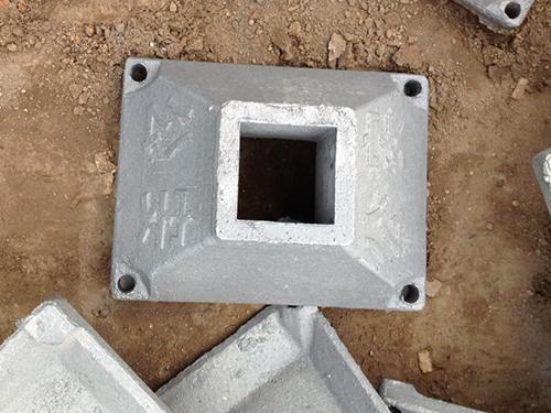 铸铁护栏底座